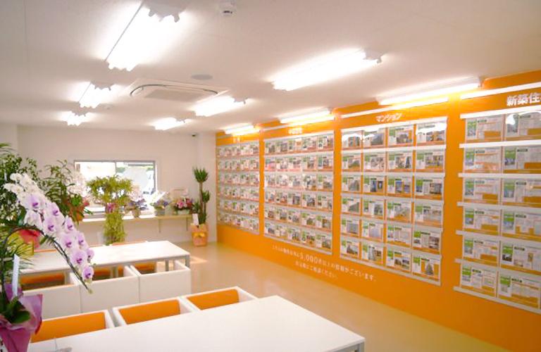 静岡県内の物件が常時5000物件以上の共有しております。
